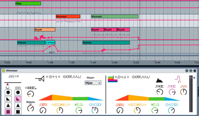 Sufi-Plug-Ins - Ableton Live 8 -screenshot - Arrangement View